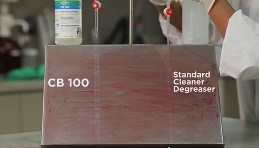 CB 100 conmpared to standard degreaser