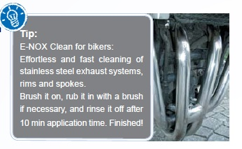 E-NOX Clean for motorcycles