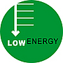 Low energy consumption